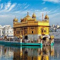 Ngôi đền dát vàng giữa hồ thiêng