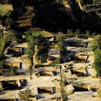 Ngôi làng dưới lòng đất độc đáo ở Trung Quốc
