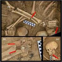 Ngôi mộ cổ lãng mạn nhất thế giới: Cặp đôi ôm chặt nhau suốt 1.600 năm
