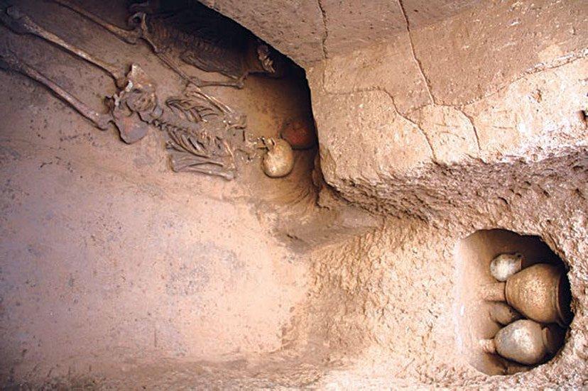 Ngôi mộ cổ Trung Quốc 4.000 năm chứa xác người bị tế sống