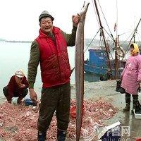 Ngư dân Trung Quốc bắt được lươn