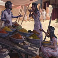 Người Địa Trung Hải nhập khẩu đồ ăn từ 3.700 năm trước
