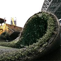 Người ta làm gì với thảm cỏ nhân tạo bỏ đi?