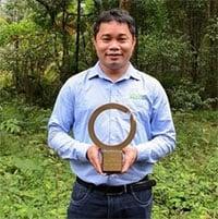 Người Việt Nam đầu tiên được trao giải