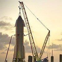 Nguyên mẫu tàu SpaceX sắp thử nghiệm bay cao 15.000m