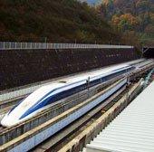 Nhật Bản ra mắt tàu đệm từ siêu tốc chạy 500km/h