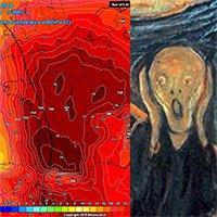 Nhìn vào bản đồ nhiệt của châu Âu lúc này là đủ để ai cũng run sợ