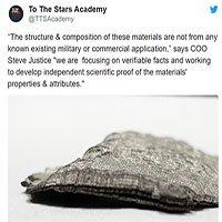 Nhóm thợ săn người ngoài hành tinh tìm thấy vật liệu để làm đĩa bay?