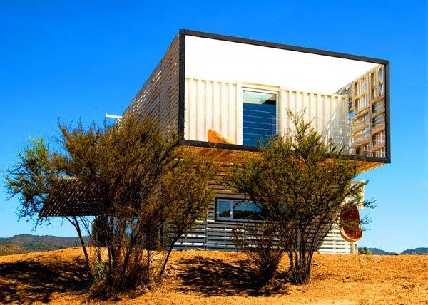 Những căn nhà siêu đẹp làm từ vật liệu tái chế