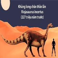 Những loài khủng long đầu tiên xuất hiện trên Trái đất