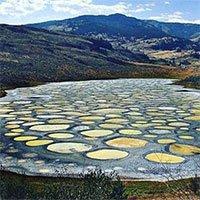Những vòng tròn kỳ lạ trên hồ nước được tin có tác dụng chữa bệnh