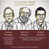 Nobel Vật lý vinh danh phát hiện về vũ trụ học và ngoại hành tinh
