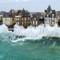 Nơi suốt 6 tháng bị sóng triều cường cao 13m hất thẳng lên nóc nhà 3 tầng