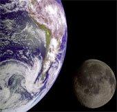 Nước trên Mặt Trăng và Trái Đất có cùng nguồn gốc