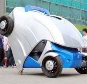 Ô tô điện có thể thu nhỏ