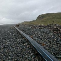 Ống lạ dài 100m dạt vào bờ biển New Zealand