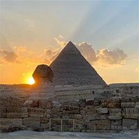 Phân điểm tiết lộ một bí mật của tượng Nhân sư ở Ai Cập