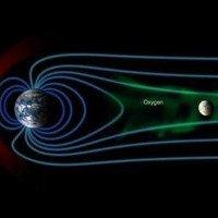 Phát hiện bất ngờ: Gió Mặt trời cuốn ôxy trên Trái đất lên Mặt trăng