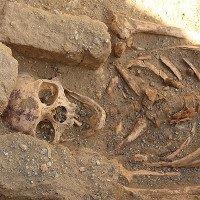 """Phát hiện bộ xương tu sĩ bị """"xẻo thịt"""" trước khi chôn"""