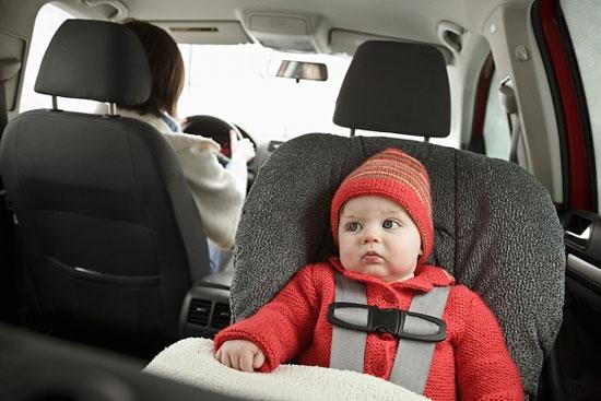 Phát hiện chất độc hại trong ghế ôtô dành cho trẻ
