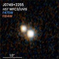 Phát hiện chuẩn tinh kép trong thiên hà hợp nhất