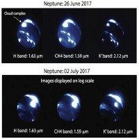 Phát hiện cơn bão khổng lồ mới xuất hiện trên Sao Hải Vương