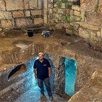 Phát hiện công trình đá2000 năm tuổi dưới lòng đất