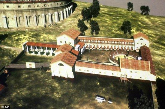 Phát hiện đấu trường La Mã ở Áo