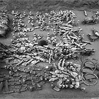 Phát hiện đội quân đất nung bảo vệ mộ con trai Hán Vũ Đế