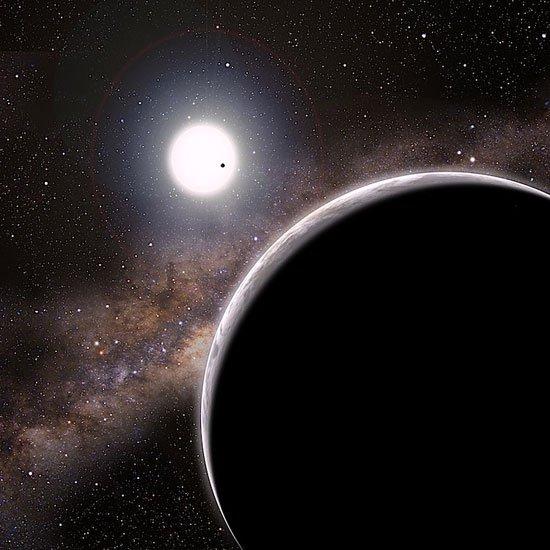 Phát hiện hành tinh vô hình