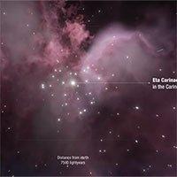 Phát hiện hệ sao khổng lồ hoạt động như máy gia tốc hạt vũ trụ