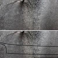 Phát hiện hình khắc thuyền da hải cẩu trên đá dài hơn 4m