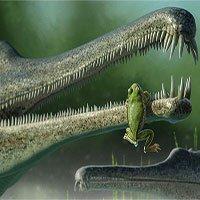 Phát hiện hoá thạch loài ếch cổ nhất ở Bắc Mỹ