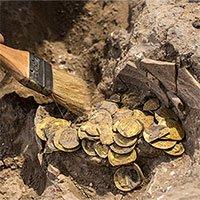 Phát hiện kho báu đầy vàng được cất giấu cách đây 1.100 năm
