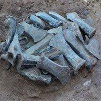 Phát hiện kho vũ khí cổ gần 3.000 năm tuổi