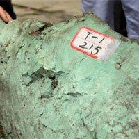 Phát hiện khối đá ngọc lam khổng lồ ở Trung Quốc