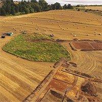 Phát hiện nghĩa địa 1.400 năm tuổi trên cao nguyên Scotland