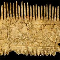 Phát hiện ngôi mộ chiến binh giàu có chôn cùng lược ngà 1.500 năm