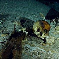Phát hiện sọ người và màn hiến tế rùng rợn ở mộ cổ Maya