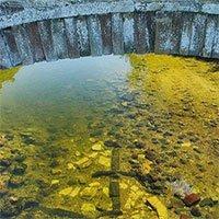 Phát hiện tàn tích cây cầu cổ 650 tuổi dưới lòng sông