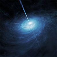 Phát hiện thiên thể sáng gấp 600 nghìn tỷ lần Mặt Trời