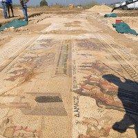 Phát hiện tranh khảm tinh xảo vô giá từ thế kỷ thứ 4