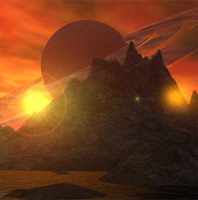 Phát hiện vệ tinh sao Thổ có mùi giống