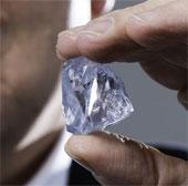 Phát hiện viên kim cương xanh
