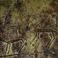 Phát lộ bức tranh khắc đá có tuổi đời 2,6 triệu năm