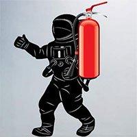 Phát minh ra hình thức dập lửa kiểu mới bằng cách hút lửa vào trong bình chữa cháy