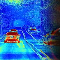 Phát triển camera cho xe không người lái mô phỏng thị giác tôm bọ ngựa