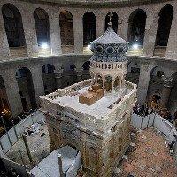 Phòng thờ trên mộ Chúa Jesus được tôn tạo xong