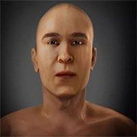 Phục dựng thành công gương mặt pharaoh Akhenaten của Ai Cập cổ đại