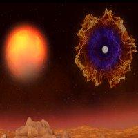 Quá trình biến xác chết của Mặt Trời thành tinh vân sáng rực